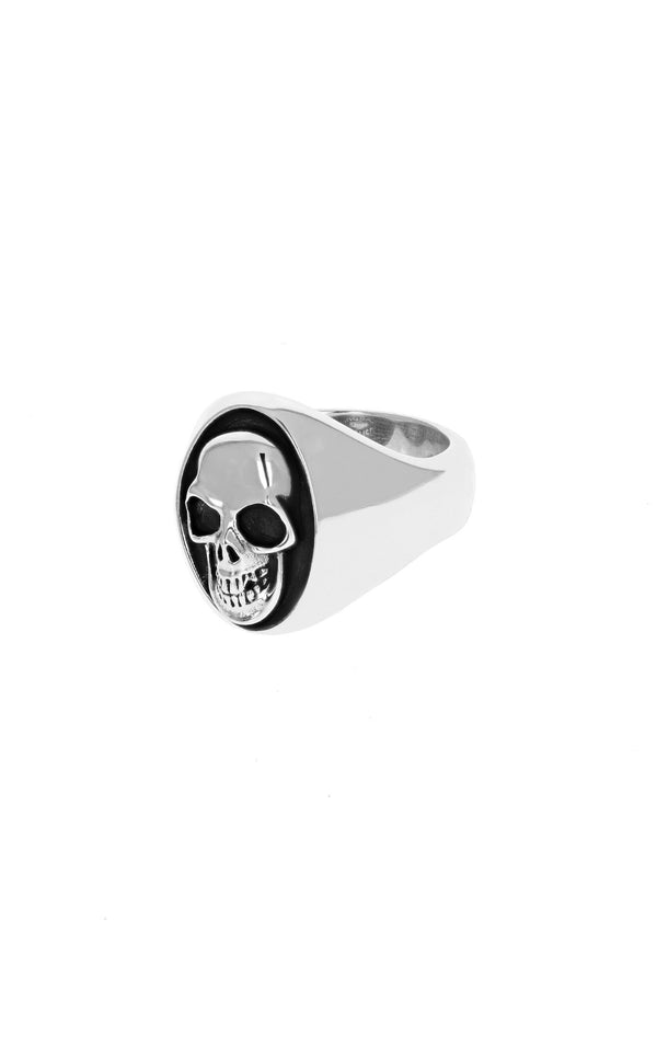 king baby large skull ring