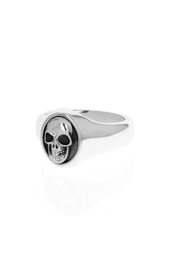 king baby small skull ring