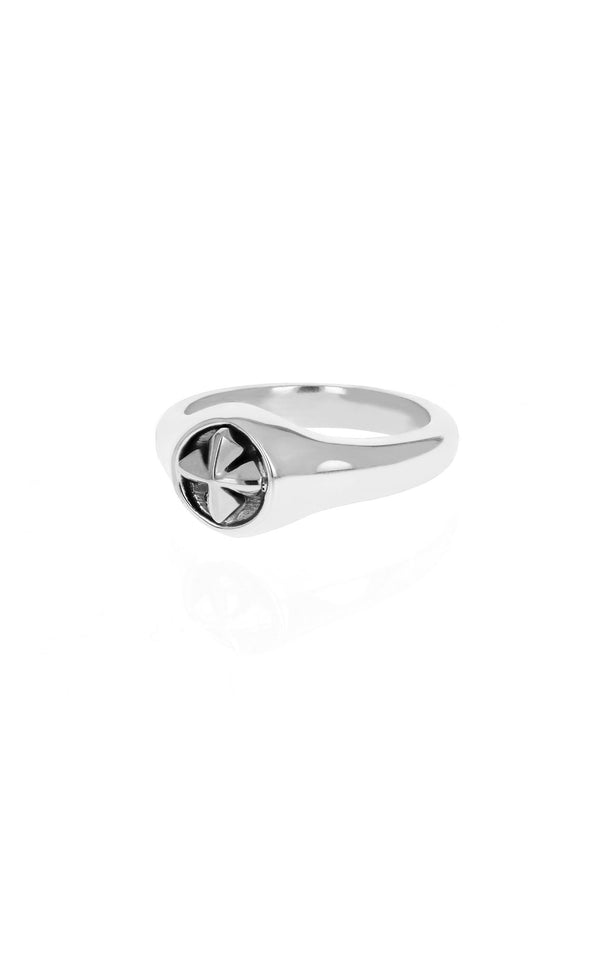 king baby small mb cross ring