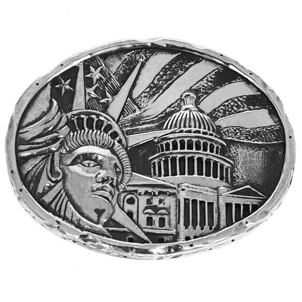 Lady Liberty Belt Buckle