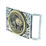 Scroll Buffalo Buckle