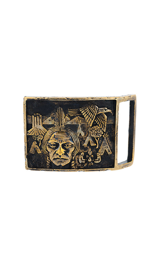 Chief and Tribe Buckle
