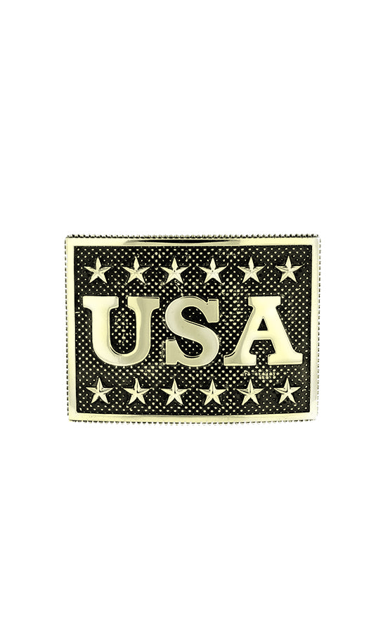 USA Buckle with Stars