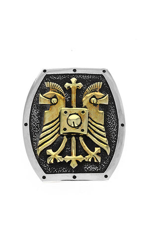 Double Helmet Shield Buckle