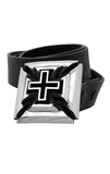 Slash Cross Alloy Belt Buckle