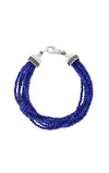 king baby ten strand lapis lazuli bracelet for women