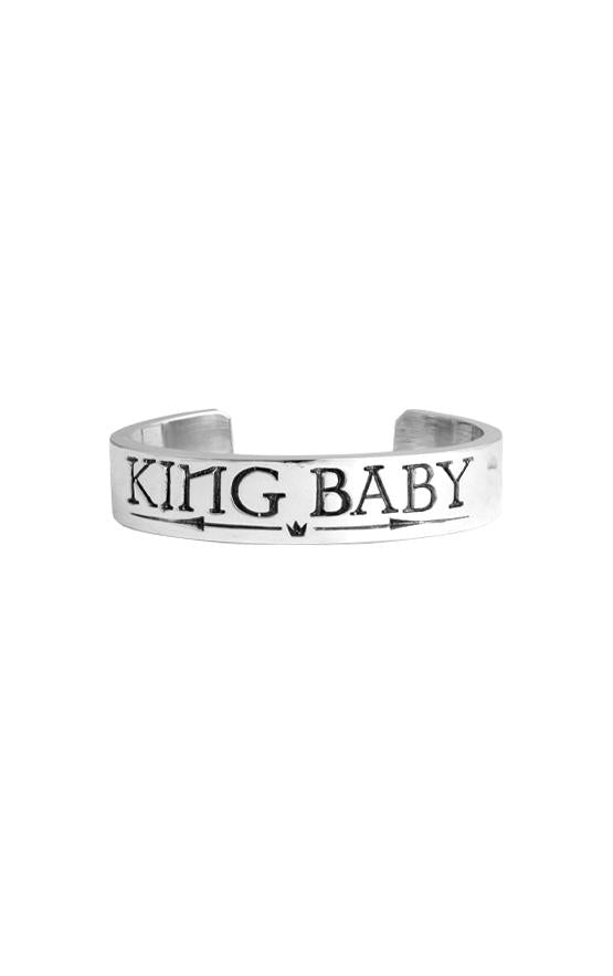 King Baby Silver Cuff