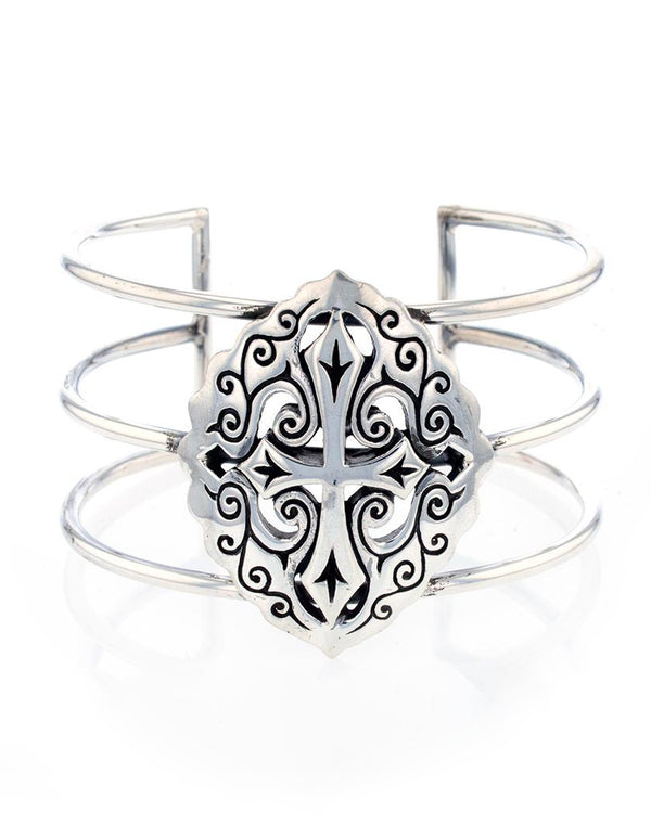 Filigree Craft Cross Cuff