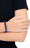 10mm Lapis Bead Bracelet