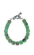 Chrysoprase Barrel Beaded Bracelet w/ Toggle