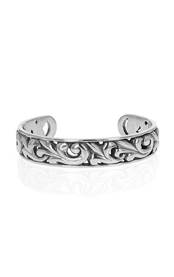 sterling silver king baby cuff