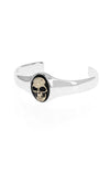 king baby new classics skull cuff with gold alloy