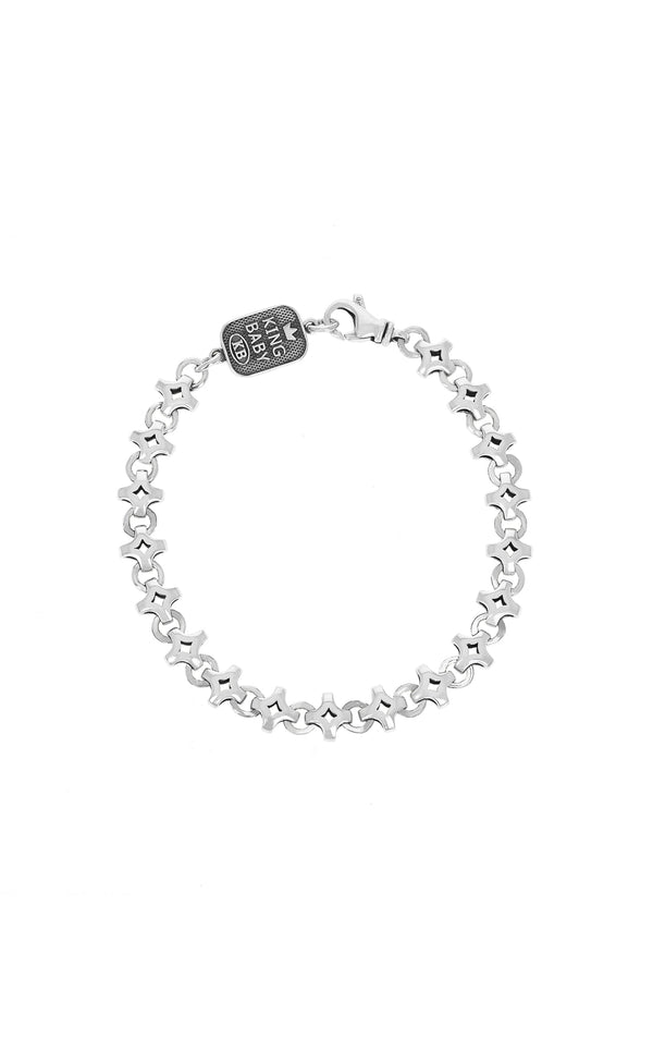 Small Diamond Link Bracelet