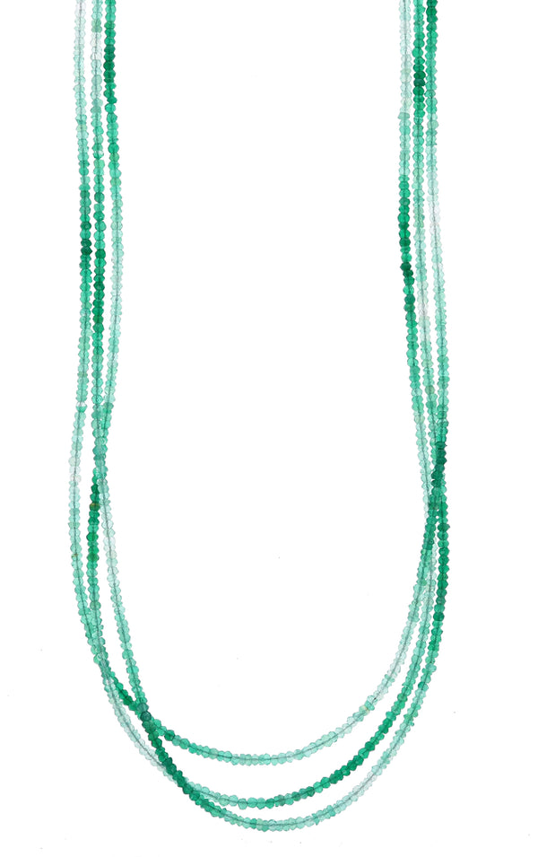 king baby womens green onyx necklace