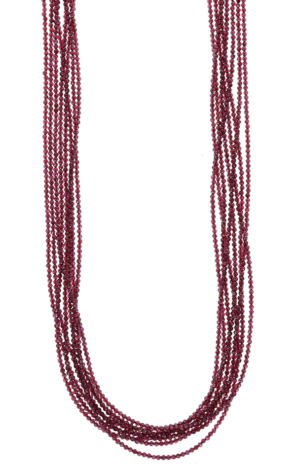 king baby womens garnet necklace