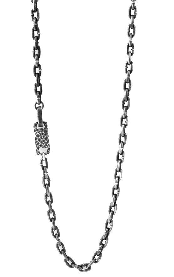 Boat Link Necklace with Hook Clasp (24 in. length)