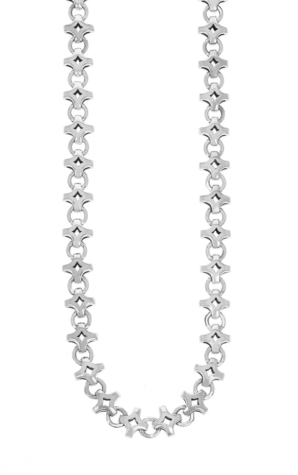 Small Diamond Link Necklace