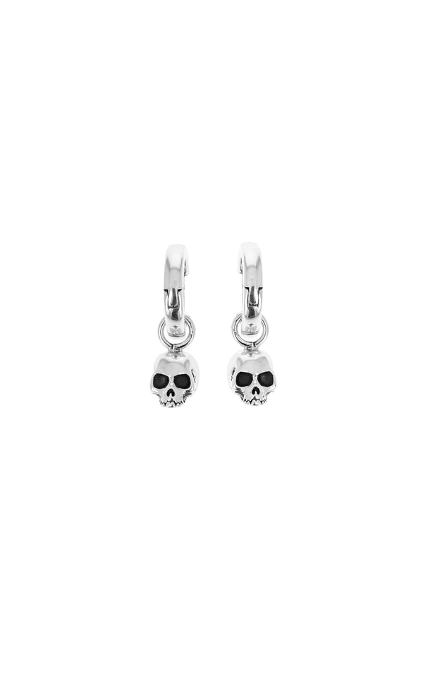 king baby womens skull earrings