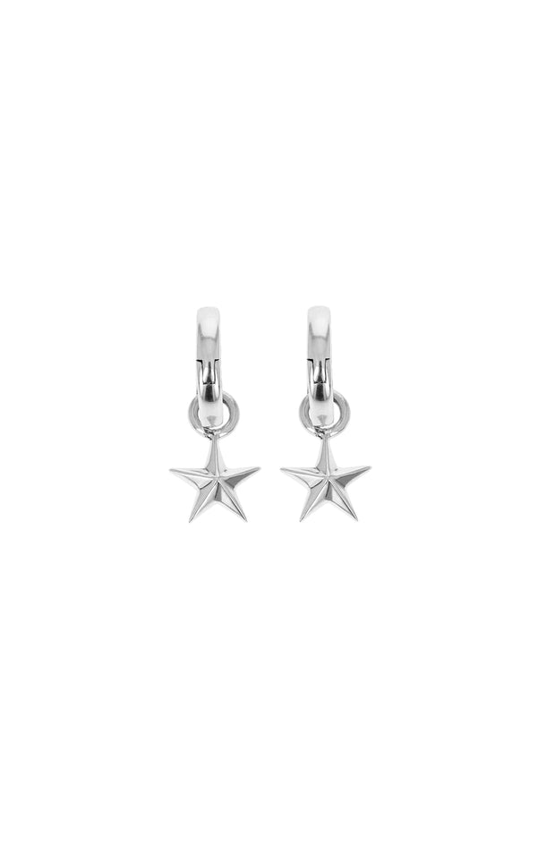 king baby womens star drop earrings