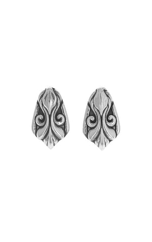 Scroll Shield Earrings