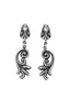 sterling silver king baby earrings