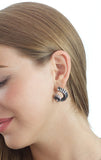 Ram Horn Stud Earrings