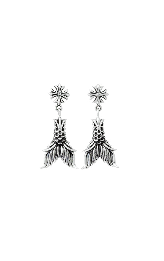 Koi Fin Earrings