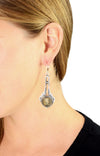 Liberty Headdress Concho Drop Earrings