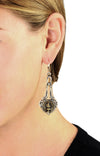 Liberty Torch Concho Drop Earrings