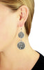 Torch Concho Earrings