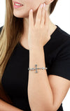 king baby womens cross bracelet