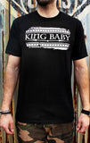 black king baby flag graphic tee