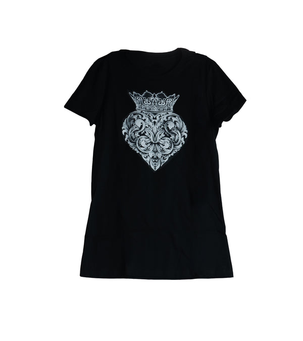 Baroque Heart Tee