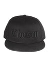 Chosen Hat Black on Black