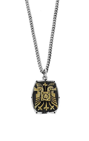 king baby shield pendant