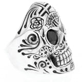 king baby mens skull ring
