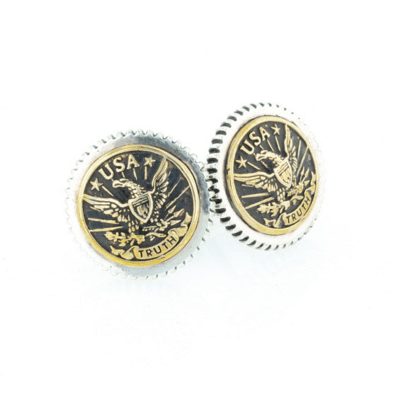 Eagle Concho Cufflinks
