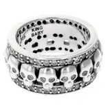 king baby womens skull ring