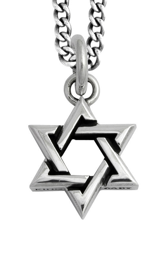 Large Star of David Pendant