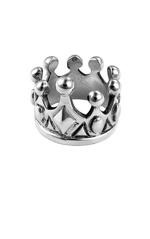 king baby mens crown ring
