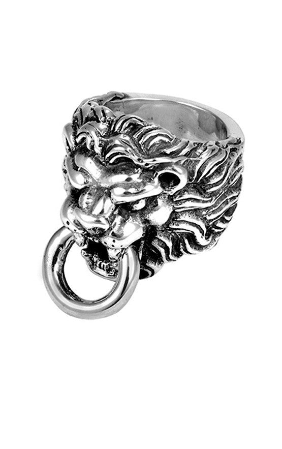 king baby men's lion ring