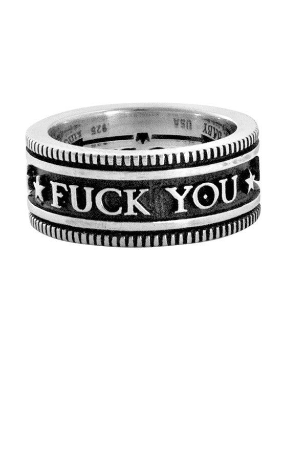 Vintage Coin Fuck You Ring