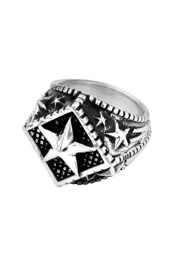 king baby mens star ring