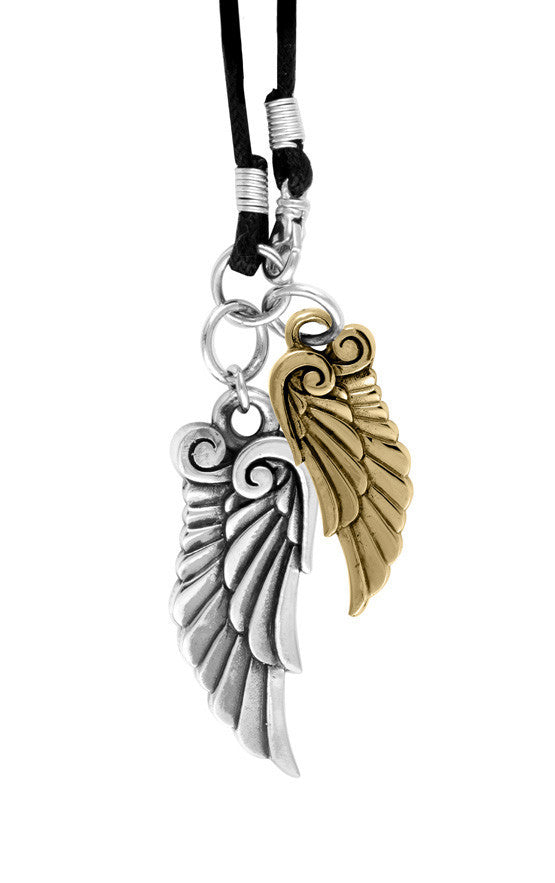 King Baby Double Archetype Wing Pendant