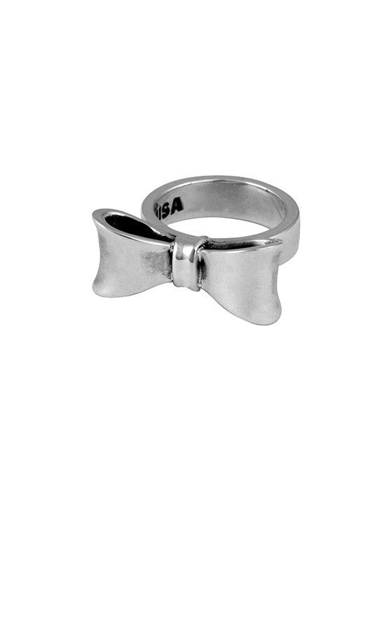 king baby small bow ring