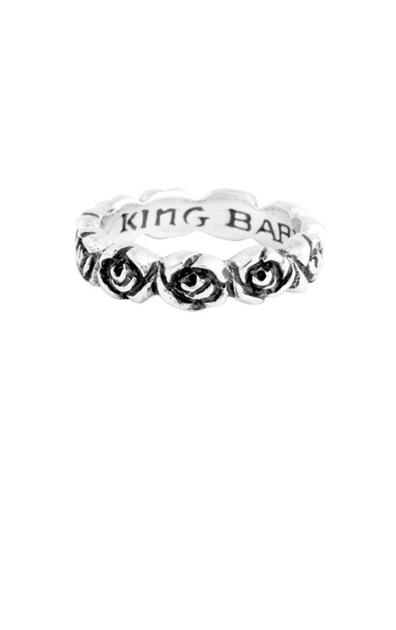 king baby infinity rose ring