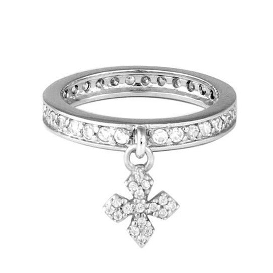 king baby womens cross ring