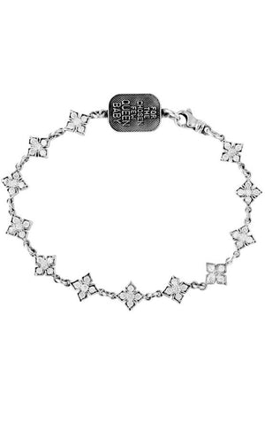MB Cross Chain Bracelet w/CZ