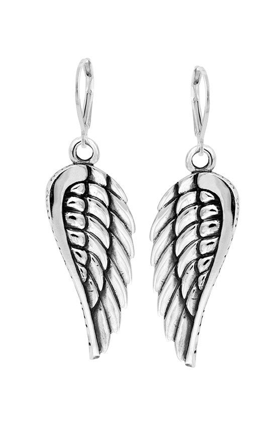 king baby wing earrings