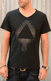 Pyramid Rays Graphic Tee